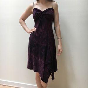 Venus cocktail dress, plum purple dress